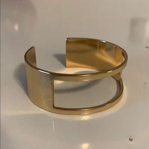 Gold Statement Bangel Bracelet